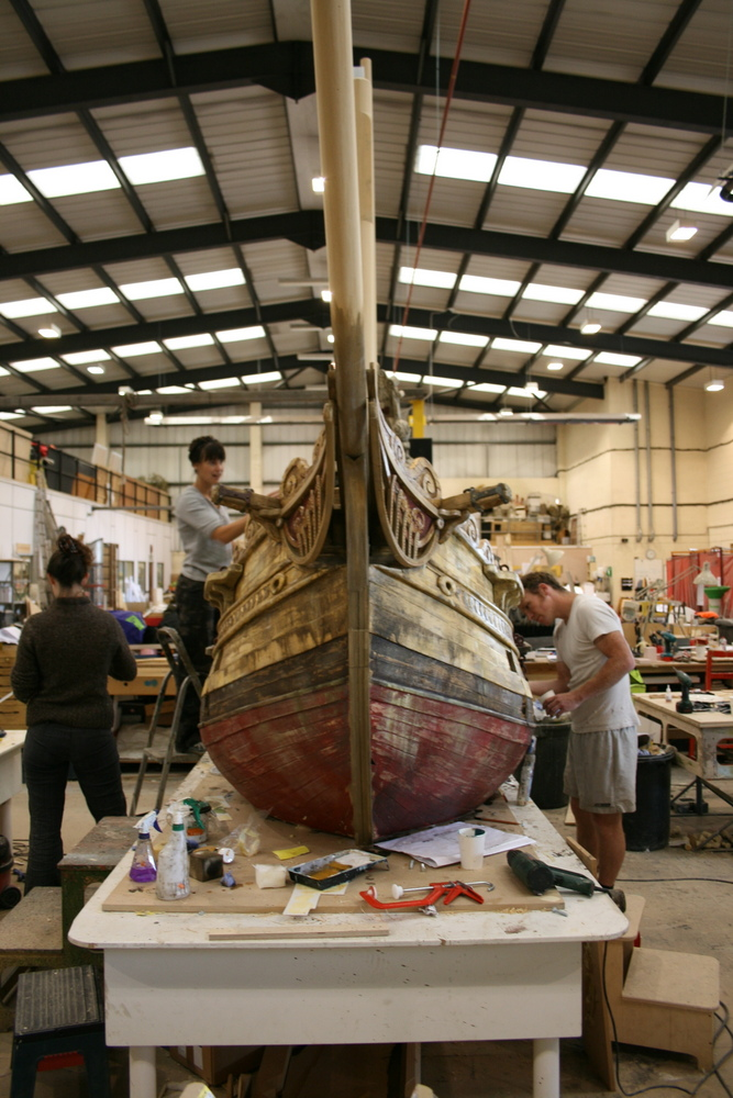 Exhibition Displays Bristol : Pirate ship bristol