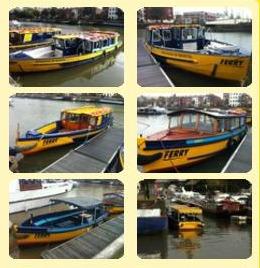 Bristol Ferry Boat Company ferry boats
