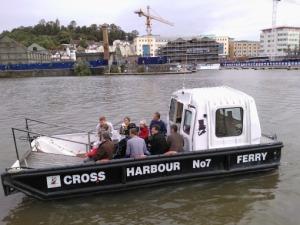 Cross harbour ferry