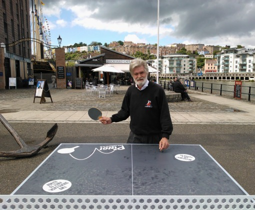 Ping vs Captain Bob at the ss Great Britain