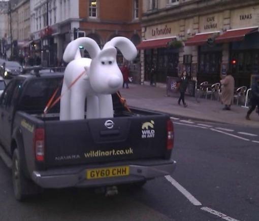 Gromit on Park Street