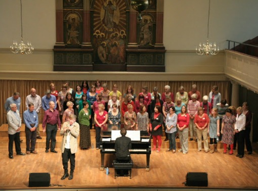 Out There Music Choir at St George's