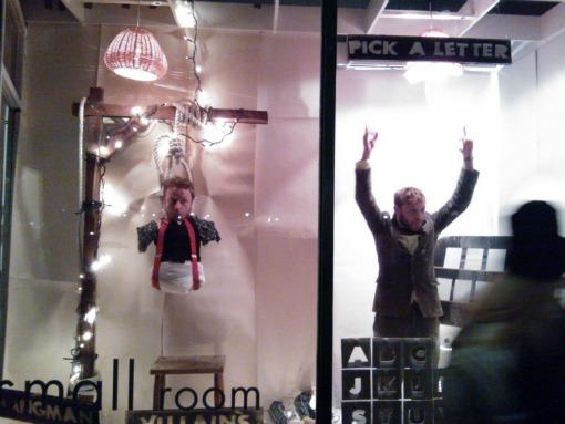 Parlour Showrooms Bristol hangman