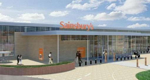 The proposed Sainsbury's