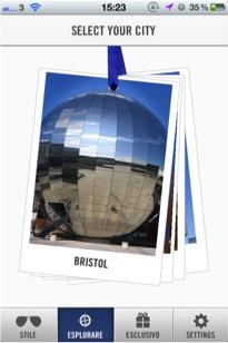 Vivi in Stile Bristol planetarium