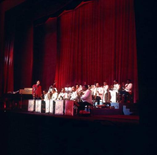 Duke Ellington and his orchestra at the Colston Hall in 1969