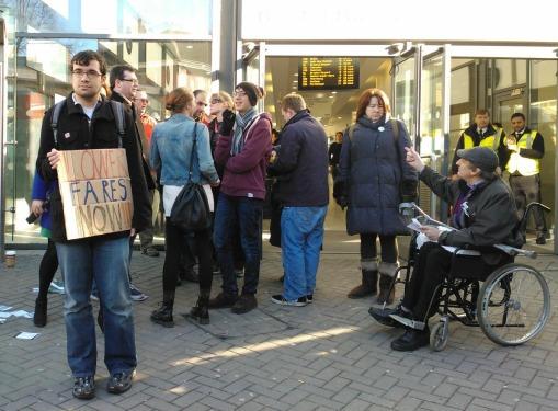 First Bristol bus demo