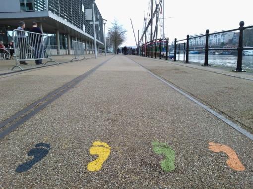 Harbourside Sports Trail footprints