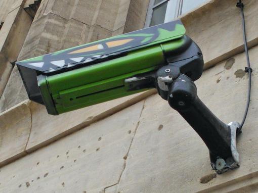 Rowdy CCTV camera