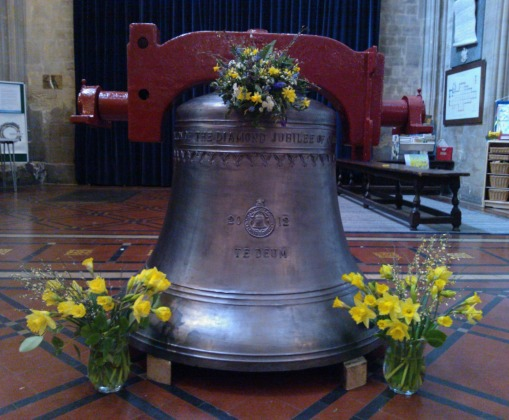 St Mary Redcliffe Church's new bell