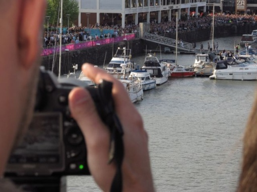 0117 Hour Challenge filming in 2012