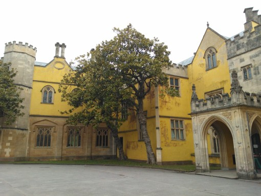 Ashton Court Mansion main entrance