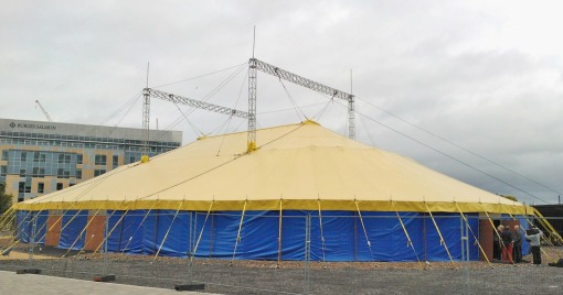 Big Top at Creative Common in 2012