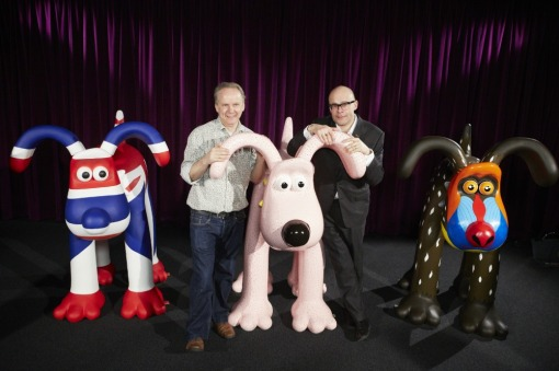 Harry Hill, Nick Park and first three Gromits