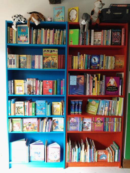 Benjamin's Children's Books bookshelf