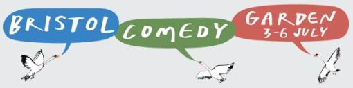 Bristol Comedy Garden 2013 logo