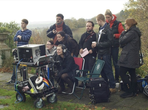 Flying Blind - filming in Clifton