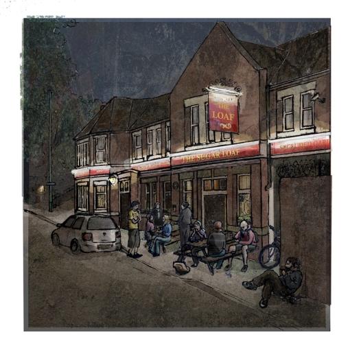 Sugar Loaf pub Easton - Megan Sinfield
